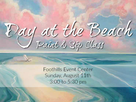 Day at the Beach paint class